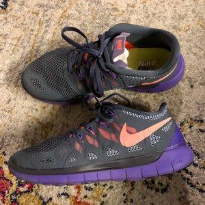 Nike free 5.0 - size 8
